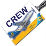 Ukraine International 737-500 Crew Tag